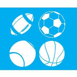 Stencil-para-Pintura-25x20-Bolas-Esportes-LSG-050---Litocart