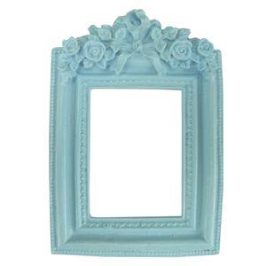 Moldura-Provensal-Retangular-Rosas-com-Laco-95x14-Azul---Resina