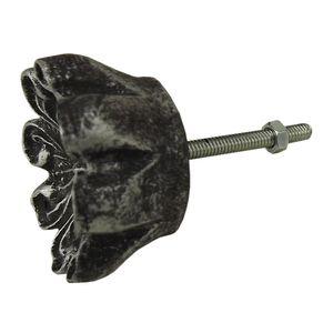 Puxador-para-Gavetas-Imperial-4x4cm-Preto-e-Prata---Resina