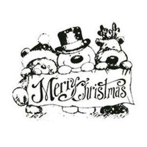 Carimbo-em-Borracha-Merry-Christmas-CLPN-001---Litoarte