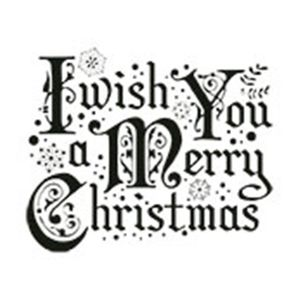 Carimbo-em-Borracha-I-Wish-You-a-Merry-Christmas-CLPN-010---Litoarte