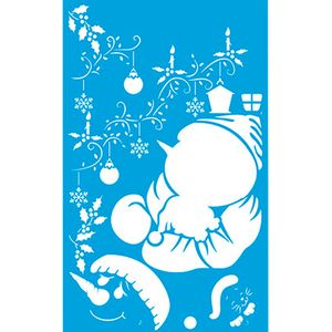 Stencil-Natal-Boneco-de-Neve-21x344-STNGG-014---Litoarte