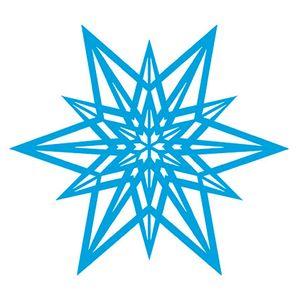 Stencil-Natal-Floco-de-Neve-Estrela-14x14-STAN-005---Litoarte