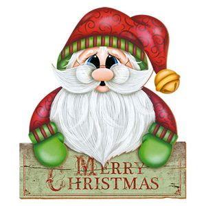 Placa-em-MDF-Natal-Papai-Noel-DHN-010---Litoarte