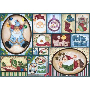 Papel-Decoupage-Natal-Papai-Noel-Azul-PDN-109---Litoarte