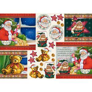 Papel-Decoupage-Natal-Papai-Noel-PDN-120---Litoarte