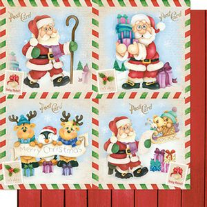 Papel-Scrapbook-Natal-Papai-Noel-Post-Card-SDN-073---Litoarte