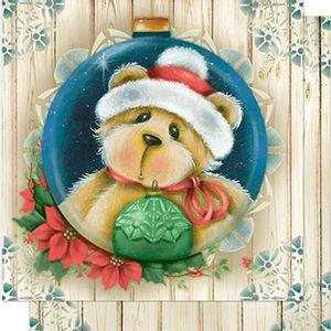 Papel-Scrapbook-Natal-Urso-na-Bolinha-SDN-077---Litoarte