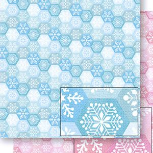 Papel-Scrapbook-Natal-Flocos-de-Neve-SDN-055---Litoarte