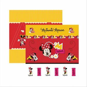 Papel-ScrapFesta-Disney-Minnie-Mouse-Cenario-e-Bandeirolas-SDFD002---Toke-e-Crie