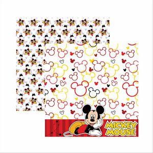 Papel-Scrapbook-Disney-Mickey-Mouse-Paisagem-SDFD017---Toke-e-Crie
