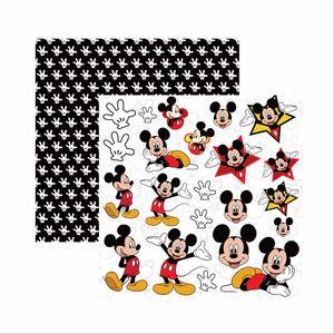 Papel-Scrapbook-Disney-Mickey-Mouse-Recortes-SDFD019---Toke-e-Crie
