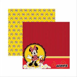 Papel-Scrapbook-Disney-Minnie-Mouse-Paisagem-SDFD007---Toke-e-Crie
