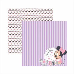 Papel-Scrapbook-Disney-Baby-Minnie-Paisagem-SDFD027---Toke-e-Crie