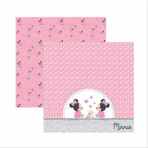 Papel-Scrapbook-Disney-Baby-Minnie-Brinquedos-SDFD028---Toke-e-Crie