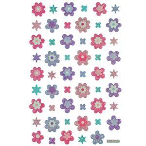 Adesivo-Mini-Puffy-Flores-AD1763---Toke-e-Crie