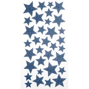 Adesivo-EVA-Puro-Glitter-Estrelas-AD1798---Toke-e-Crie