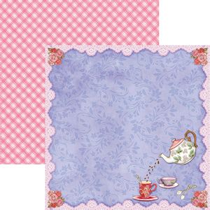 Papel-Scrapbook-Dupla-Face-Cha-da-Tarde-Moldura-SDF671---Toke-e-Crie