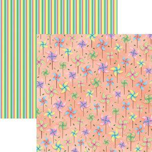 Papel-Scrapbook-Dupla-Face-Passeio-no-Parque-Cataventos-SDF682---Toke-e-Crie