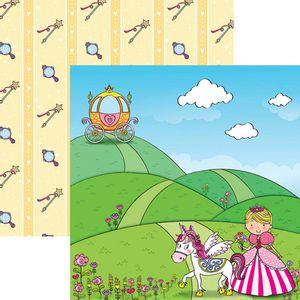 Papel-Scrapbook-Dupla-Face-Princesas-Delicadas-Paisagem-SDF687---Toke-e-Crie