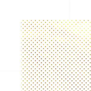 Papel-Scrapbook-Estrelas-Dourado-e-Branco-SDF615---Toke-e-Crie
