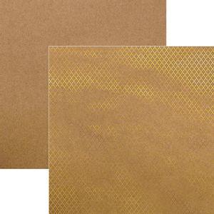 Papel-Scrapbook-Marroquino-Dourado-e-Kraft-SDF612---Toke-e-Crie