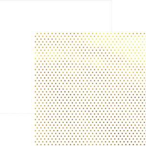 Papel-Scrapbook-Poa-Dourado-e-Branco-SDF614---Toke-e-Crie