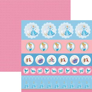Papel-ScrapFesta-Disney-Princesa-Cinderela-Selos-e-Tags-SDFD073---Toke-e-Crie