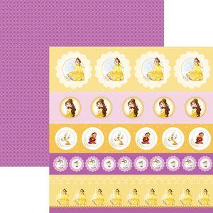 Papel-ScrapFesta-Disney-Princesa-Bela-Selos-e-Tags-SDFD067---Toke-e-Crie
