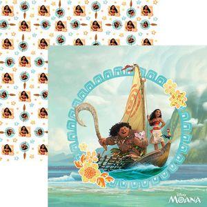 Papel-ScrapFesta-Disney-Moana-Guirlanda-SDFD057---Toke-e-Crie