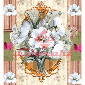 Papel-Scrap-Decor-Simples-20x20-Moldura-com-Flores-LSCXX-020---Litocart