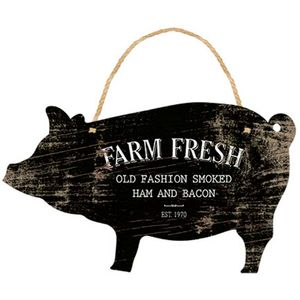 Enfeite-de-Parede-Porco-Farm-Fresh-30x175cm-DHPM5-163---Litoarte