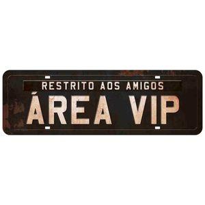 Placa-Decorativa-Area-Vip-40X13cm-DHPM2-040---Litoarte