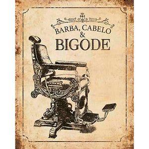 Placa-Decorativa-Barba-Cabelo-e-Bigode-24x19cm-DHPM-157---Litoarte