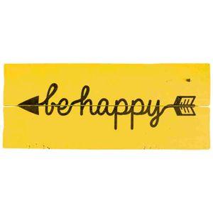 Placa-Decorativa-Be-Happy-146x35cm-DHPM2-065---Litoarte