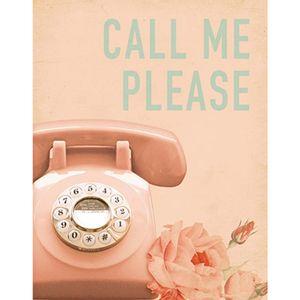 Placa-Decorativa-Call-me-Please-24x19cm-DHPM-141---Litoarte