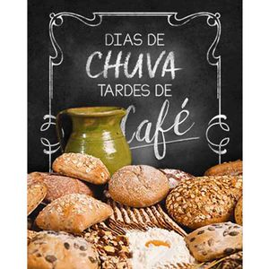 Placa-Decorativa-Dias-de-chuva-tardes-de-cafe-24x19cm-DHPM-181---Litoarte