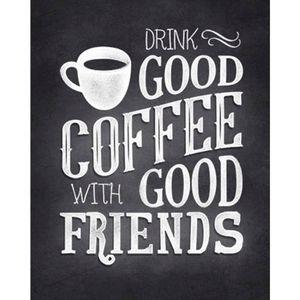 Placa-Decorativa-Drink-Good-Coffee-With-Good-Friends-24x19cm-DHPM-185---Litoarte