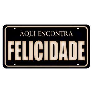 Placa-Decorativa-15x30cm-Aqui-Encontra-Felicidade-LPD-014---Litocart