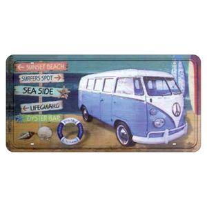 Placa-Decorativa-15x30cm-Sunset-Beach-LPD-019---Litocart