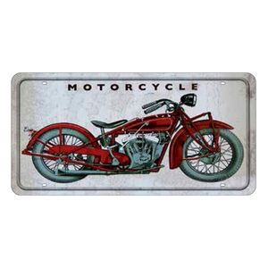 Placa-Decorativa-15x30cm-Motorcycle-LPD-024---Litocart