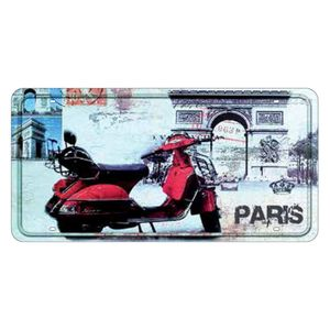 Placa-Decorativa-15x30cm-Vespa-Paris-LPD-027---Litocart