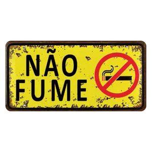 Placa-Decorativa-15x30cm-Nao-Fume-LPD-032---Litocart