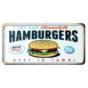 Placa-Decorativa-15x30cm-Hamburgers-LPD-035---Litocart