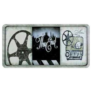 Placa-Decorativa-15x30cm-The-End-LPD-038---Litocart