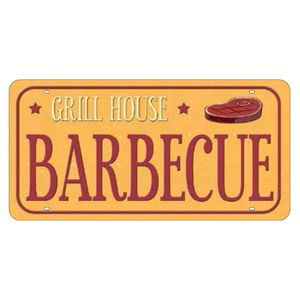 Placa-Decorativa-15x30cm-Gril-House-Barbecue-LPD-046---Litocart