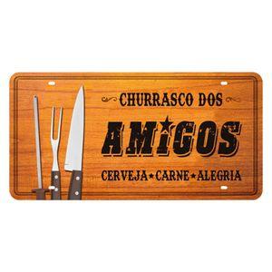 Placa-Decorativa-15x30cm-Churrasco-dos-Amigos-LPD-049---Litocart