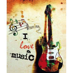 Placa-Decorativa-245X195cm-I-Love-Music-LPMC-030---Litocart
