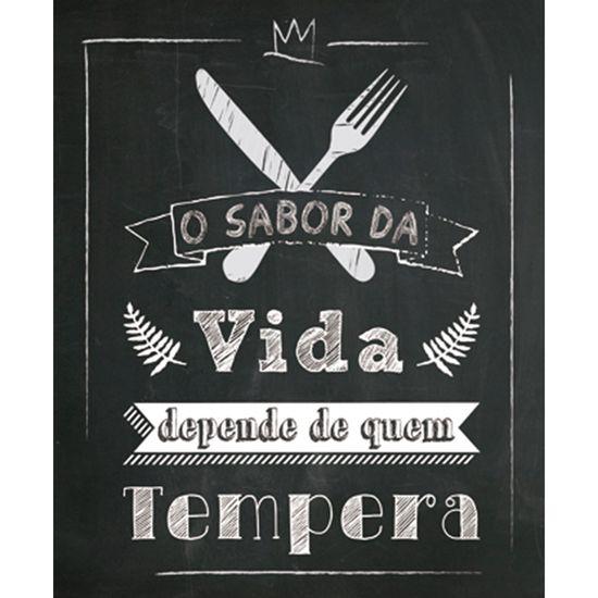 Placa-Decorativa-245X195cm-O-Sabor-da-Vida-Depende-de-Quem-Tempera-LPMC-036---Litocart