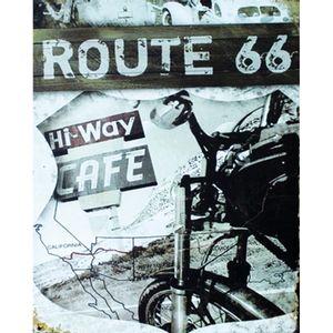 Placa-Decorativa-245X195cm-Route-66-LPMC-043---Litocart